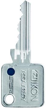 IKON Nachschlüssel Ersatzschlüssel mit FarbPIN (Schließanlagen)