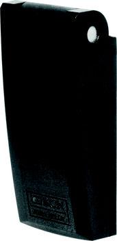 Rosette mit Regenschutzklappe | Typ 1255 | Farbe schwarz