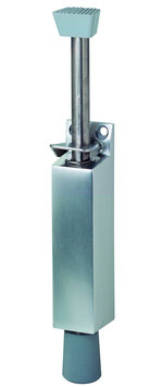 KWS Türfeststeller 1045 | 90 mm Hub |  Gummistopfen grau