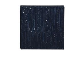 KWS 8886 Ersatzplatte 150 x 150 x 18 mm, Farbe Schwarz, Relief