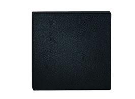 KWS 8885 Ersatzplatte 150 x 150 x 18 mm, Farbe Schwarz, fein genarbt