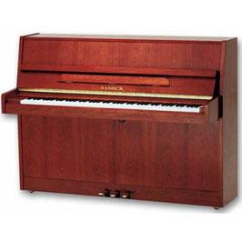 PIANO SAMICK ACÚSTICO VERTICAL JS-110D CAOBA POL.