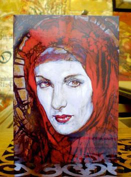 La Magdalena Greeting Card