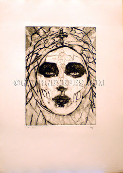 Calavera Muse Limited Editions Etchings