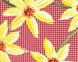 Grußkarte Gelbe Blüten