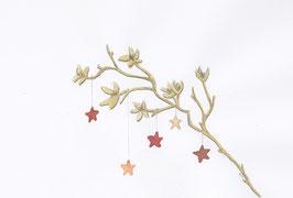 Grußkarte Goldener Zweig