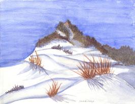 Grußkarte Winterlandschaft