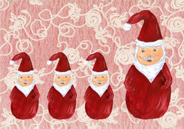 Grußkarte Nikolaustag