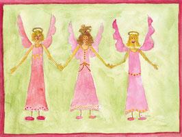 Grußkarte Engel