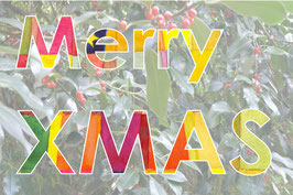 Grußkarte Merry XMAS