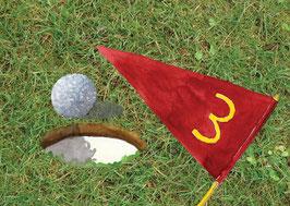 Grußkarte Golf