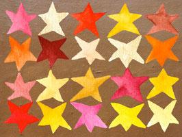 Grußkarte Sterne