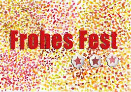 Grußkarte Frohes Fest