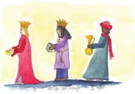 Grußkarte Heilige drei Könige