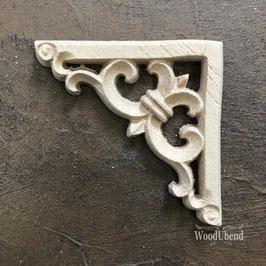 WoodUbend Baroque Corner 5,9 x 5,9 cm #2099