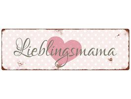 "Metallschild ""Lieblingsmama..."""