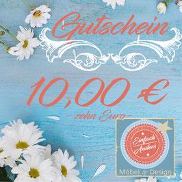 Gutschein 10,-€