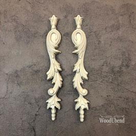 WoodUbend Tropfen 2er Set, 23.5 x 3,5 cm #1304