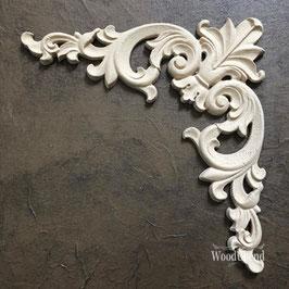 WoodUbend Pediment/Giebel 27 x 14cm #2093