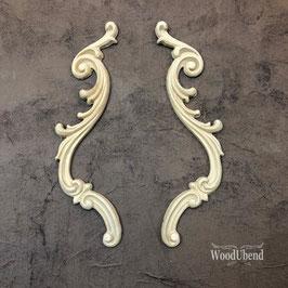 WoodUbend Tropfen 2er Set, 25 x 4 cm #1309