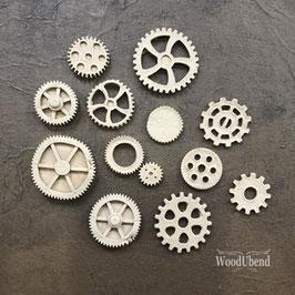 WoodUbend Zahnräder - sortiert #0515