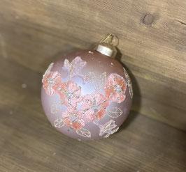 Christbaumkugel rosa