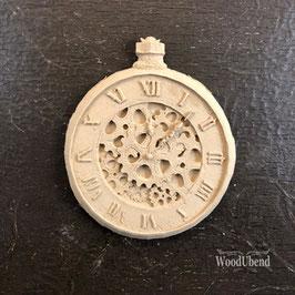 WoodUbend Uhr 11 x 9 cm #2037