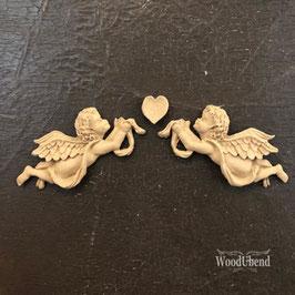 Woodubend WoodUbend kleines Engel - Set - 16 x 3 cm #1186
