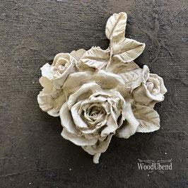 WoodUbend Rose Bouquet 6 x 6 cm #0330