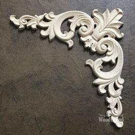 WoodUbend Pediment/Giebel 15 x 8 cm #2094
