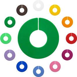 LP-Größenscheibe, farbig, unbedruckt