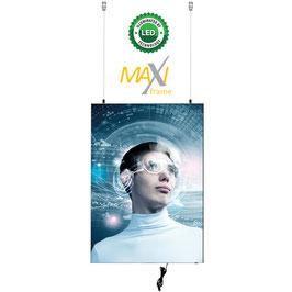 Textilspannrahmen MaxiFrame Star LED, doppelseitig