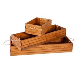 Faltbare Holzkiste