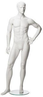 Herrenmannequin Marvin Position 5