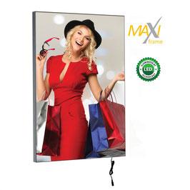 Textilspannrahmen MaxiFrame LED, einseitig