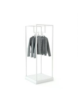 Kleiderständer Pan, Metall weiss