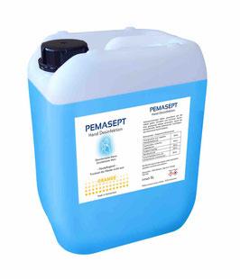 Hand Desinfektionsmittel Pemasept Orange 5 Liter Flasche