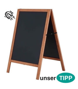 Kundenstopper A Board dunkel Aussenbereich