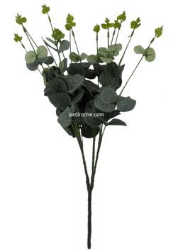 Plante de décoration intérieure, Eucalyptus leaves, plante artificielle, décoration bureau, décoration maison