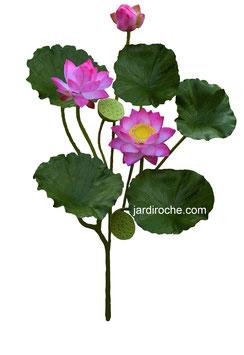 Plante Artificielle, Fleur de Lotus, tige et fleur, décoration intérieure, décoration maison, décoration bureau
