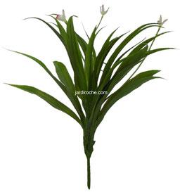 Plante de décoration intérieure, Orchid plants, plante artificielle, décoration bureau, décoration maison