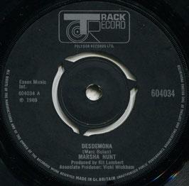 Marsha Hunt - Desdemona / Hippy Gumbo - UK Track 604034