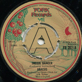Abacus - Indian Dancer / Be That Way - UK York Records YR 207