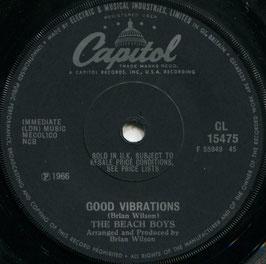 Beach Boys(The) - Good Vibrations / Wendy - UK  Capitol CL 15475