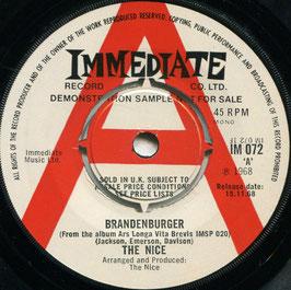 Nice (The) - Brandenburger / Happy Freuds - UK  Immediate IM 072