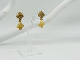 Ohrstecker kleine Goldblumen