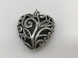 Anhänger filigranes dickes Herz