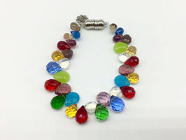 Tropfen-Armband in bonbonbunten Farben