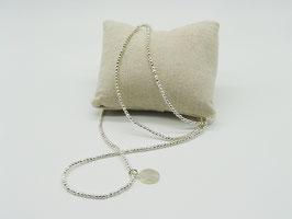 Filigranes Silber-Hämatit Loop-Armband