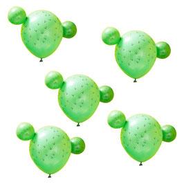 Luftballonset Kaktus